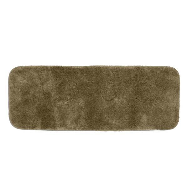 Somette Posh Plush Taupe 22 X 60 Bath Runner 15344867