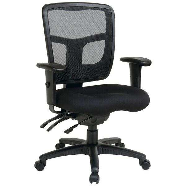 Overstock Office Furniture: Office Star Pro-Line II Breathable ProGrid Ratchet Back