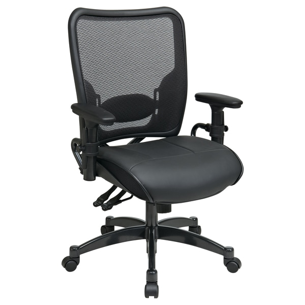 Office Star Products Space 68 Series Breathable Dark Air