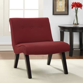 Armless Tufted Chair Steel 12329753 Overstock Com