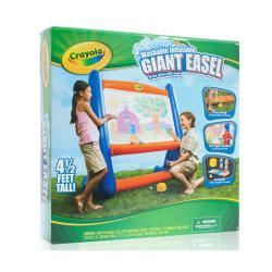 Crayola Giant 4 5 Foot Inflatable Easel 14348294