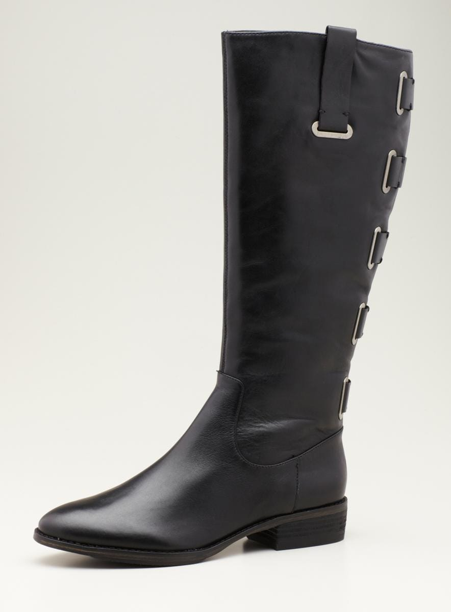 Arturo Chiang Flat Hs Riding Boot With Side Tabs