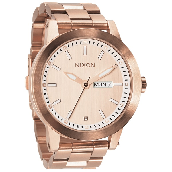 Nixon Men S Spur All Rose Gold Watch 15368694