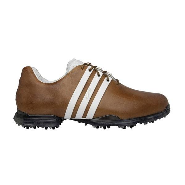 Adidas Men s Adipure Hickory  White Golf Shoes  f67b7d28e