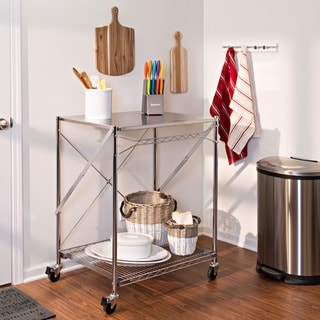 Bayou Classic Stainless Steel Serving Cart 13980492