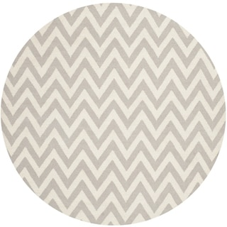 Safavieh Indoor Outdoor Courtyard Black Beige Zig Zag Rug