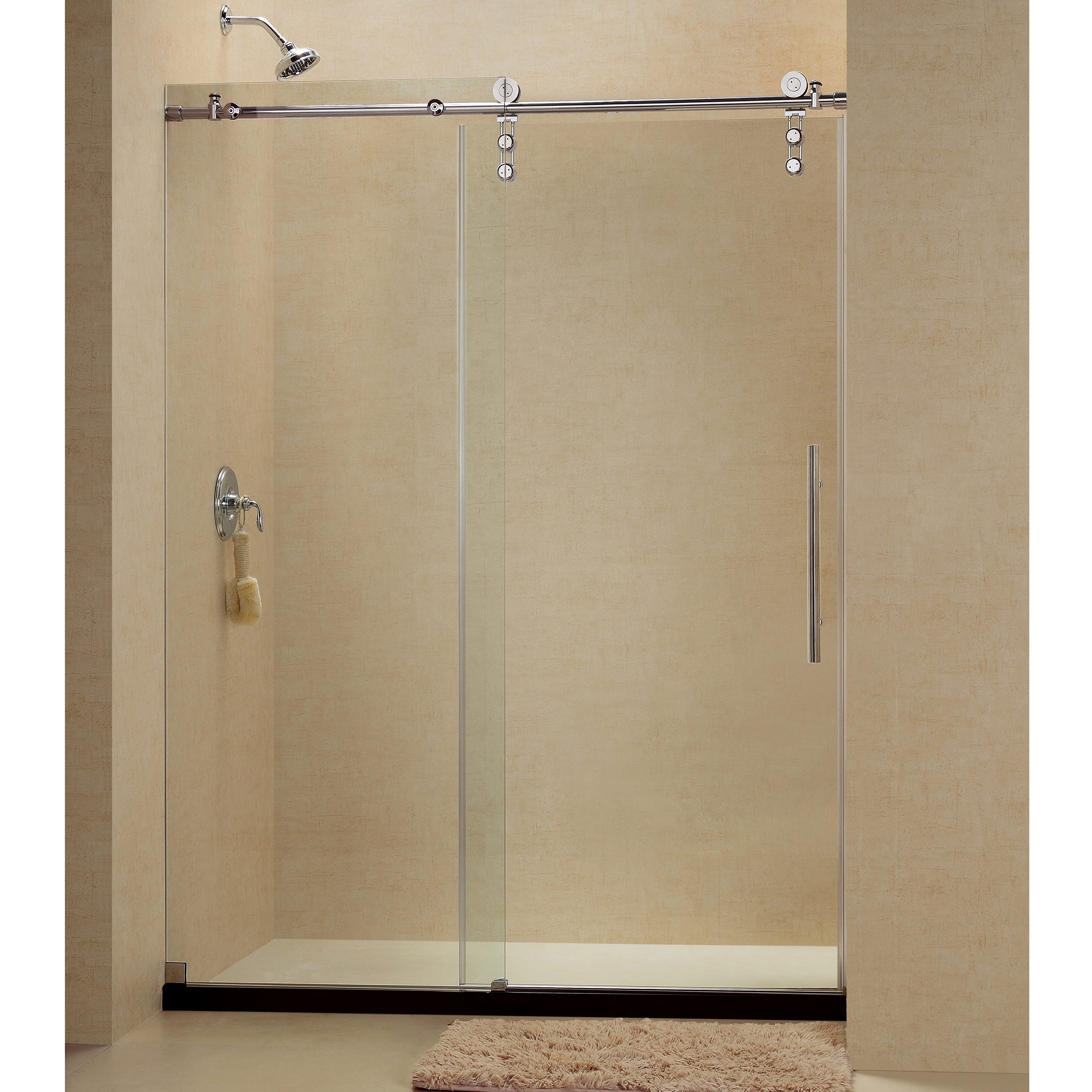 Glass Panels Hinged Bifold Doors Bathtub Shower Doors