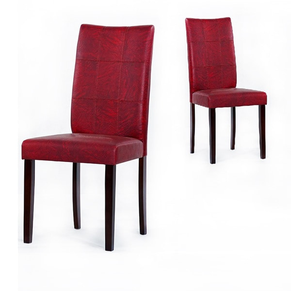 Red And Black Dining Room Sets: Warehouse Of Tiffany Eveleen Black/ Red Dining Room Chairs