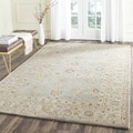 Safavieh Handmade Antiquity Blue Grey Beige Wool Rug 9 6