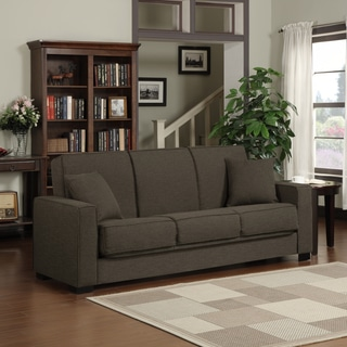 Mali Convert A Couch Chocolate Brown