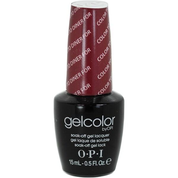 Opi Color To Diner For OPI Gelcolor Co...