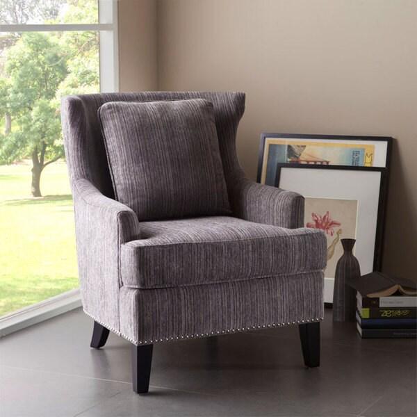 Sierra Grey Multi High Back Chair Overstock Shopping