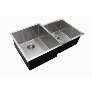 Ukinox Granite 60 40 Double Bowl Undermount Sink