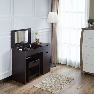 Oliver & James Sisley Vanity Table and Stool