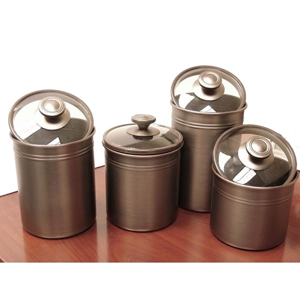 Oil Rubbed Bronze Kitchen Canister Sets