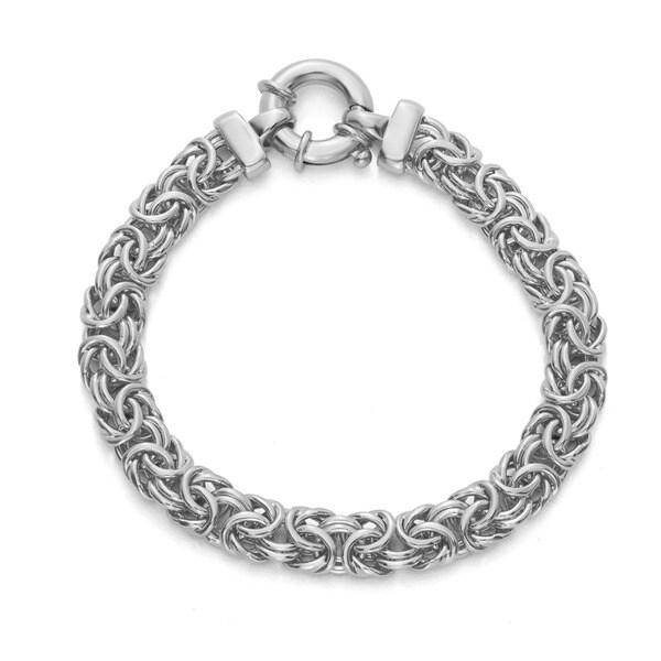 b560d2291 White Gold Bracelets: Cheap Thick Sterling Silver Bracelets