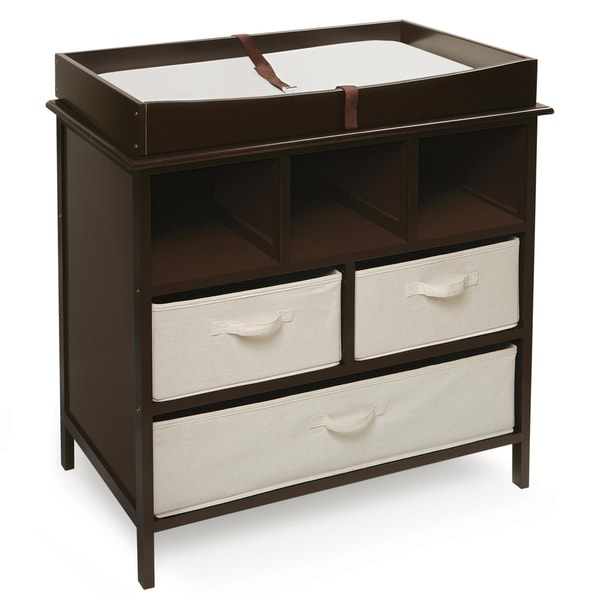 Natural Colored Changing Table