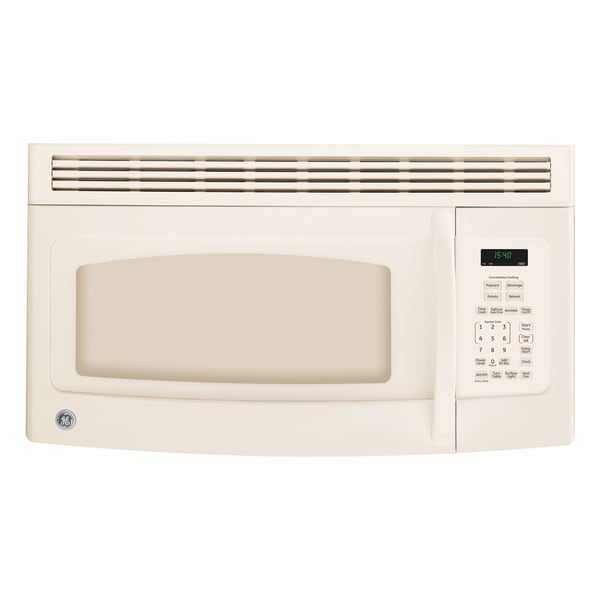 GE Spacemaker Bisque 1.5 Cu. Ft. Over The Range Microwave