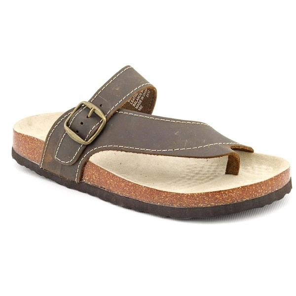 White Mountain Shoes Carly Flat Thong Sandals