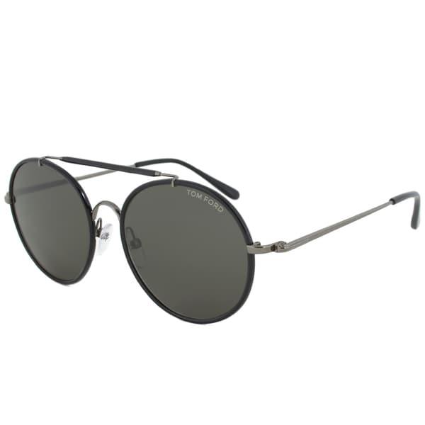 991dca451c 14. Tom Ford - Men apos s TF0246 Samuele Round Sunglasses
