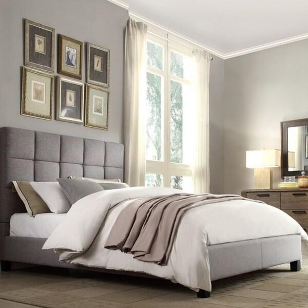 Inspire q fenton grey linen panel upholstered bed e38c3e18 6bf5 4e49 b00c a53df72084a3 600