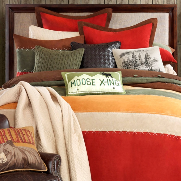 Bedroom Sets Clearance Free Shipping: Woolrich 'Bear Creek' Comforter Set