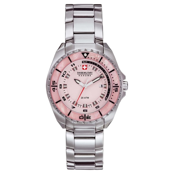 Swiss Military Hanowa Women's 'Sealander' Pink Dial Watch