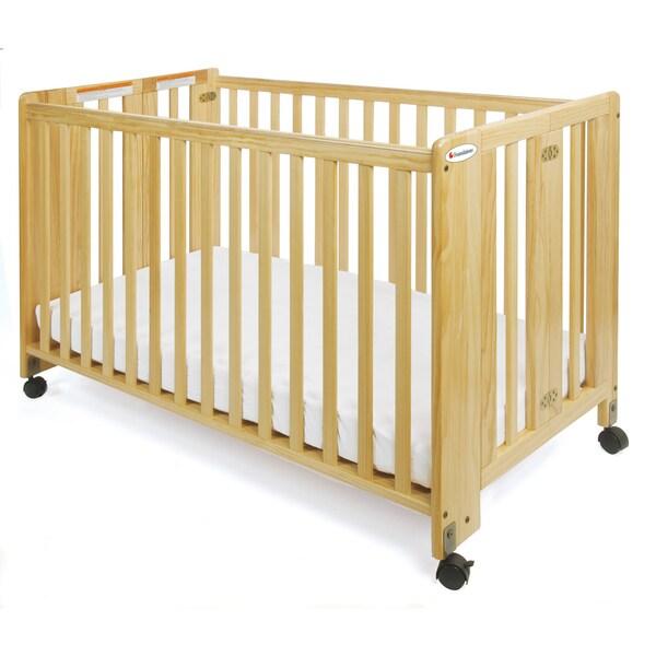 Foundations Hideaway Full Size Folding Crib 15414764 Overstock Com Shopping Big Discounts