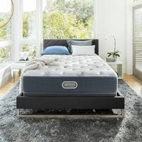 Beautyrest Silver Maddyn Plush King-size Mattress Set