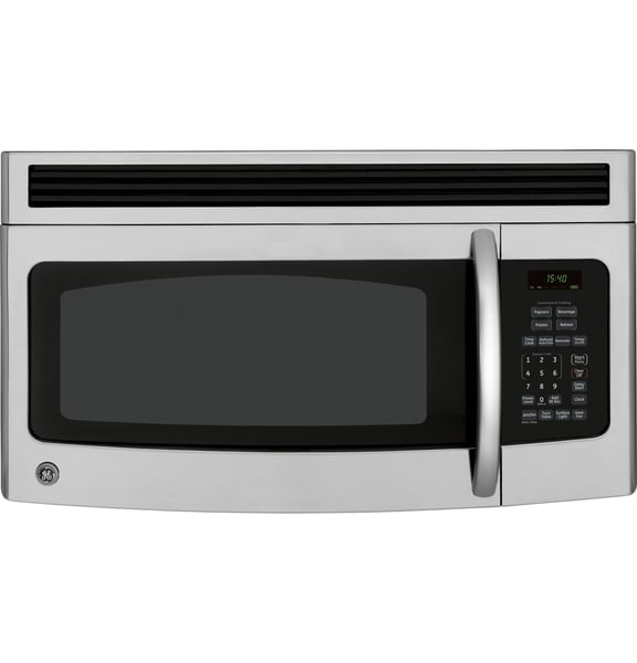 GE Spacemaker Stainless Steel Over-the-Range Microwave