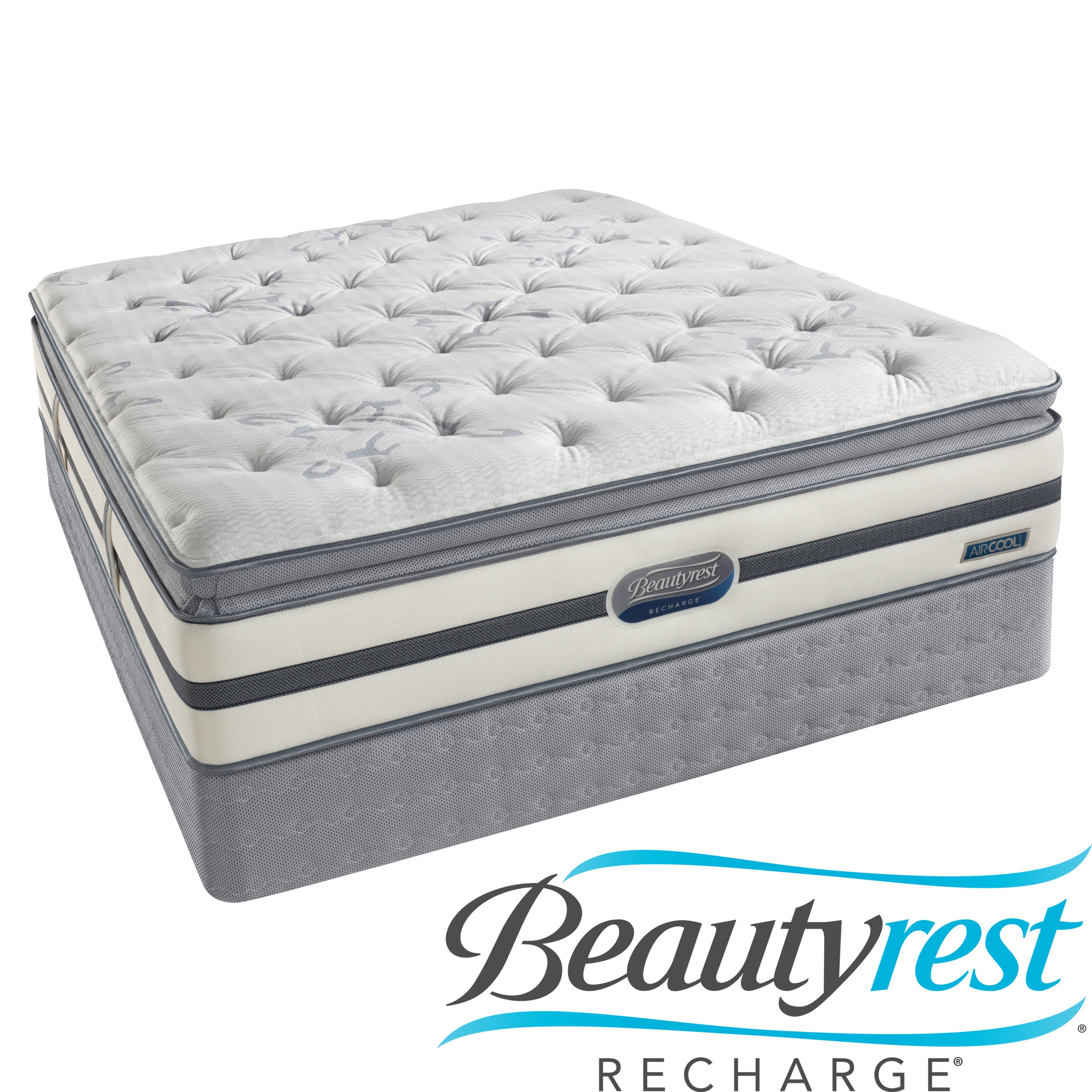 Beautyrest Elite Selkirk Plush Firm Queen Mattress Set