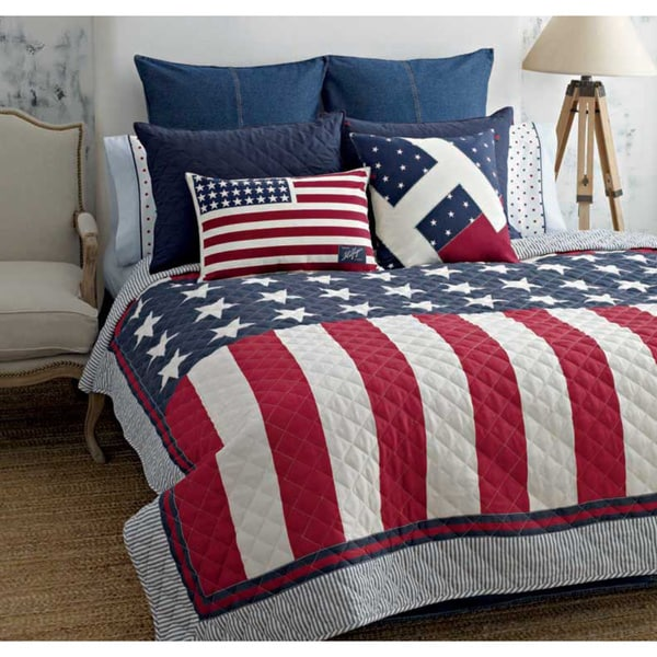 Tommy Hilfiger Americana Cotton Quilt 15431560