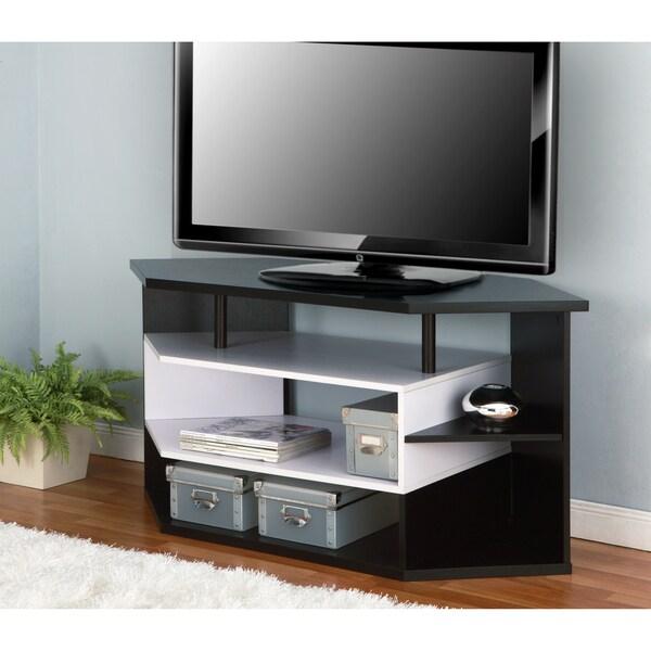 Furniture Of America 47 Inch Black And White Contemporary