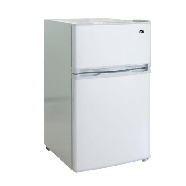 1 Cubic Foot Refrigerator Igloo 3.2 Cubic Foot 2-door Fridge - 15439381 - Overstock ...
