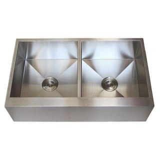 Stainless Steel Farmhouse Kitchen Sinks Overstock Com