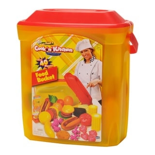 American Plastic Toys Children S Kitchen Play Set