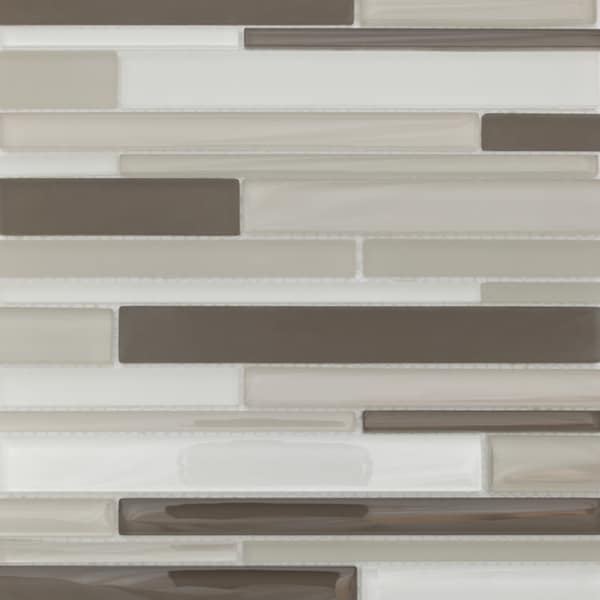 Martini Mosaic Strada Dolphine Cove Glass 12 75 X 14 25