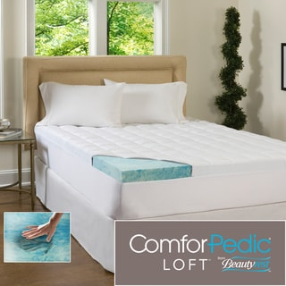 Beautyrest 4 Inch Supreme Gel Memory Foam And 1 5 Inch