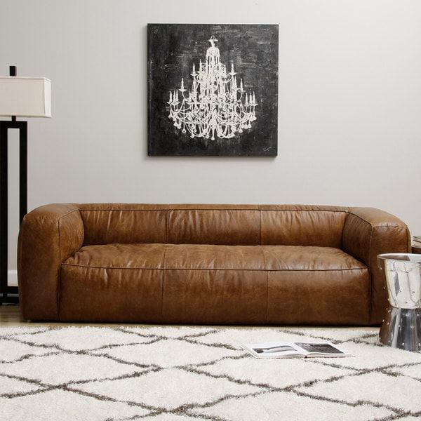 Soft Leather Sectional Sofa: Diva Outback Bridle Leather Sofa
