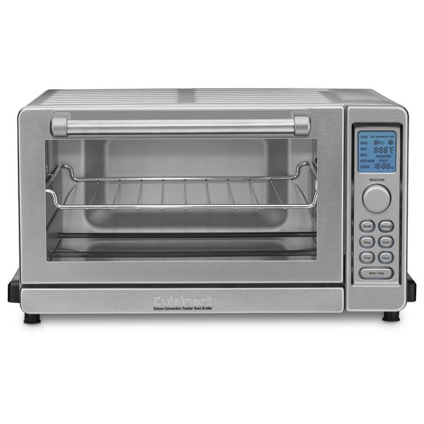 Cuisinart Tob 135 Brushed Stainless Steel Deluxe