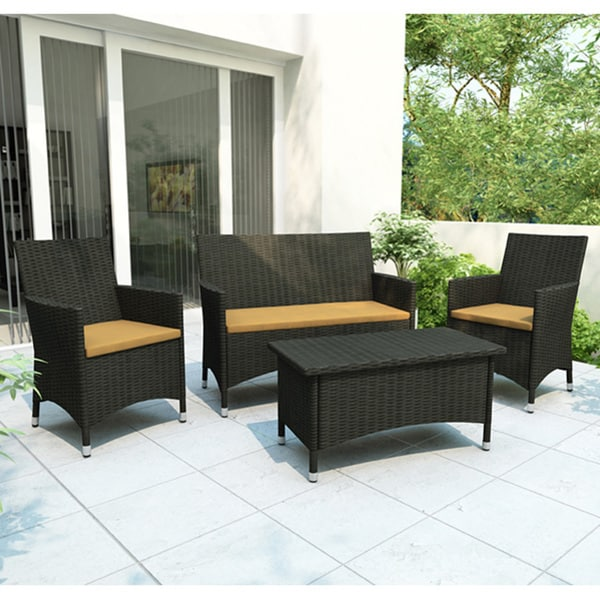 Sonax Furniture: Sonax Cascade 4-piece Patio Set