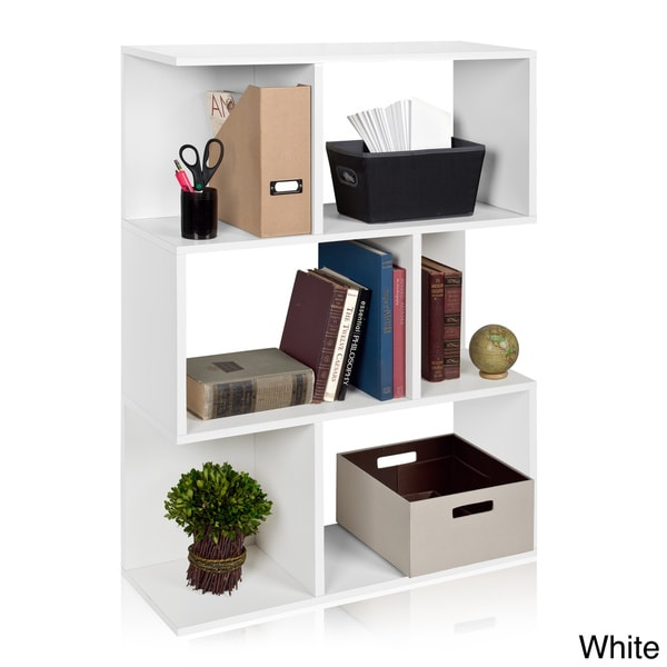Madison eco friendly zboard bookcase room divider and - Room divider with storage ...