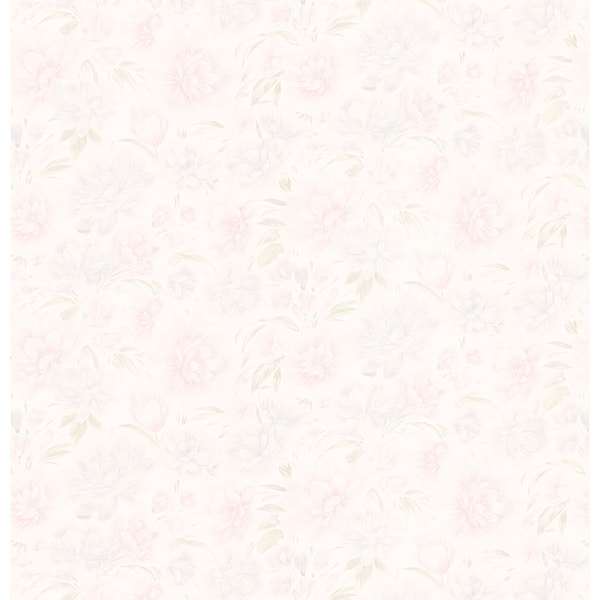 Brewster Pastel Floral Texture Pre Pasted Wallpaper On Popscreen