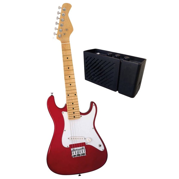 ready ace 31 inch electric guitar with amp 15504349 shopping great deals on. Black Bedroom Furniture Sets. Home Design Ideas
