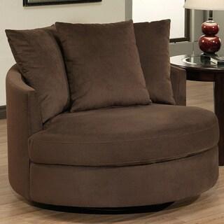 Round Spinning Sofa Chair Cuddler Swivel Sofa Chair