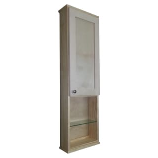 wall cabinet bathroom cabinets   storage overstock com Tan Wall with Cabinet Doors 3 White Bathroom Wall Cabinets