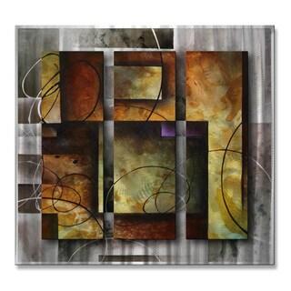 Geometric Modern Metal Abstract Wall Art 12732391