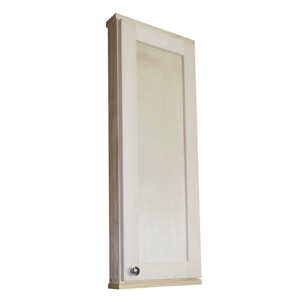 36 Inch Shaker Series On The Wall Cabinet 2 5 Inches Deep