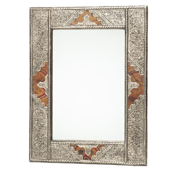 Metal And Leather Moroccan Mirror Morocco 15523961