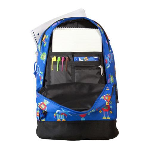 9959e686255c Wildkin Sidekick Backpack Robots Wildkin Fabric Backpacks